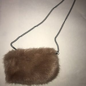 Handbags - Fur purse